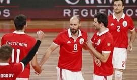 Benfica vence Académica de São Mamede