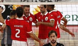 Benfica derrota Volei Clube Viana