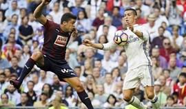 Real Madrid-Eibar, 0-0 (1.ª parte)