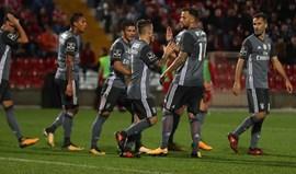 Aves-Benfica, 1-3 (resultado final)