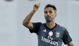 Benfica frente ao Aves: Jonas desbloqueia