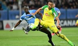 Nantes afastado da Taça da Liga pelo secundário Tours