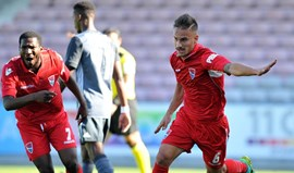 Gil Vicente-Benfica B, 4-0:  Goleada adivinhou-se cedo