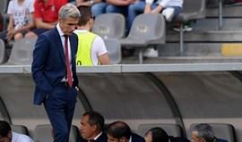 Luís Castro: «Equipa acusou ansiedade e pressão do lugar que ocupa»