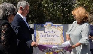 José Mourinho já tem o seu nome (literalmente) gravado em Setúbal