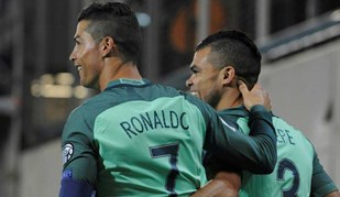 Cristiano Ronaldo já só está a um golo do pódio mundial