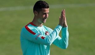 Seleção portuguesa está pronta para o jogo com a Suíça