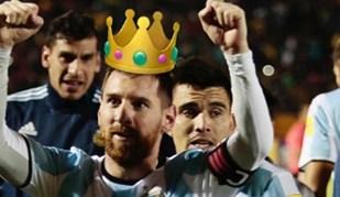Ricardinho rendido a Messi sem esquecer... Ronaldo