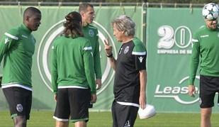 Jorge Jesus afinou a tática para a Juventus e mostrou o que quer em Turim