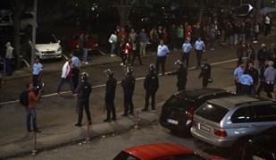 As imagens da confusão após o Aves-Benfica