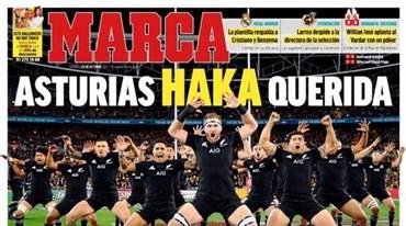 As capas da imprensa internacional