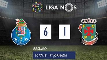 O resumo do FC Porto-P. Ferreira (6-1)