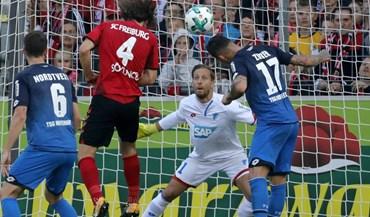 Hoffenheim sofre primeira derrota e fica com segundo lugar em risco