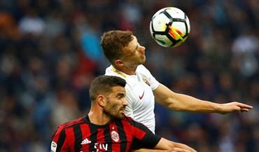 Milan perde com Roma e fica a nove pontos da liderança