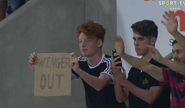 Nos Barreiros pediu-se o despedimento de... Wenger