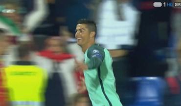 Foi assim que Ronaldo desfez o nó em Andorra