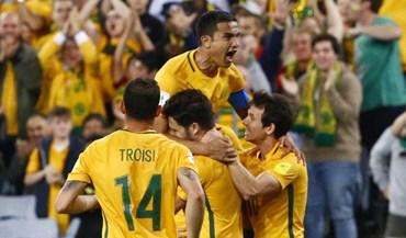 Tim Cahill 'obriga' Síria a dizer adeus ao Mundial'2018