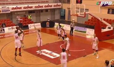 Insólito na Liga de basquetebol: Barreirense e CAB com equipamentos praticamente iguais