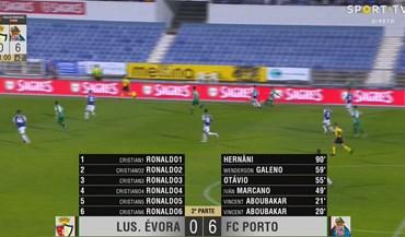Cristiano Ronaldo joga no... Lusitano de Évora?