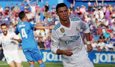 Ronaldo quebra 'maldição' e dá triunfo ao Real Madrid