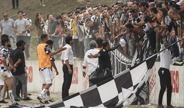 A fúria dos adeptos do Boavista depois da eliminação na Taça