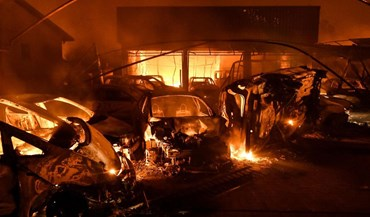 As imagens do pior dia do ano em incêndios