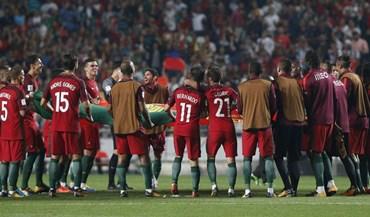 Ranking FIFA: Portugal mantém o 3.º lugar