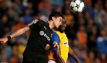 Borussia Dortmund desilude e empata frente ao APOEL