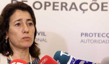 Ministra da Administração Interna apresenta demissão