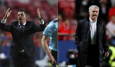 Mourinho vs Rui Vitória: o duelo nos bancos