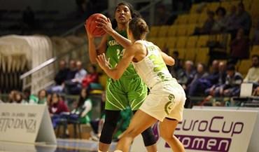 Eurocup feminina: GDESSA derrotado pelo Virtus Eirene