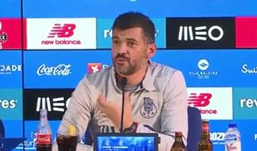 Sérgio Conceição: «Já mandei o José Sá cortar a barba»