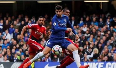 As melhores imagens do Chelsea-Watford