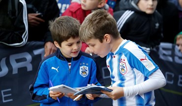 As melhores imagens do Huddersfield-Man. United