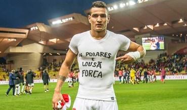 Rony Lopes dedicou vitória aos afetados pelos incêndios