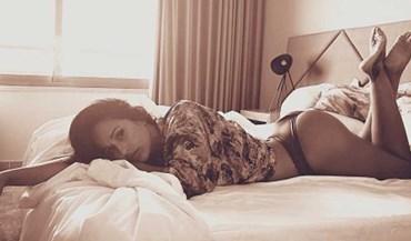 Rita Pereira publica fotografia na cama e os 'likes' disparam
