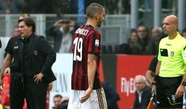 Bonucci falha clássico com a Juventus