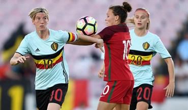 Portugal perde com a Bélgica noiníciodacorrida ao Mundial'2019