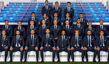A expressão de Ronaldo na foto oficial do Real Madrid diz tudo