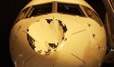 Avião dos Thunder atingido durante voo para Chicago