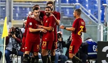Roma derrota Bolonha pela margem mínima
