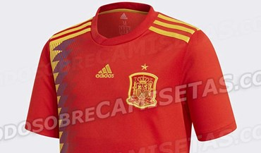 Espanha vai atacar título mundial com esta camisola