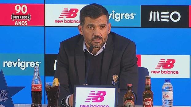 Sérgio Conceição: «Era a resposta que queríamos dar»