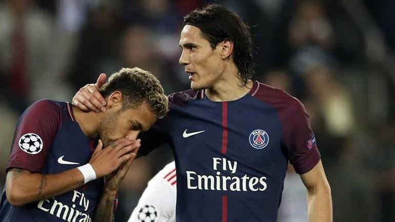 Cavani e o desentendimento com Neymar: