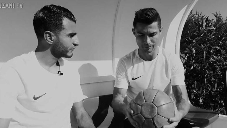 Como se safa Cristiano Ronaldo contra Touzani, o rei do freestyle?