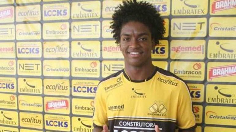 Cruzeiro anuncia a contratação do atacante Caio Rangel, ex-Flamengo