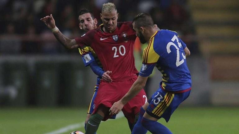 Renato Sanches treinou com limitações em Andorra