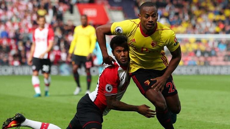 Carrillo deseja permanecer no Watford e não voltar ao Benfica