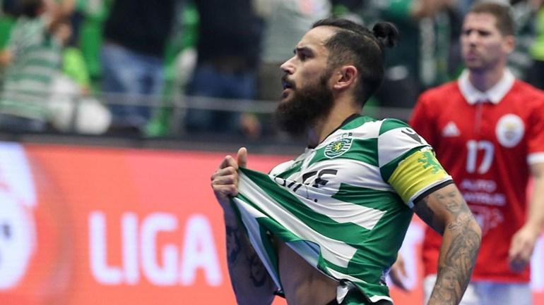 Futsal: Sporting volta a vencer o Benfica