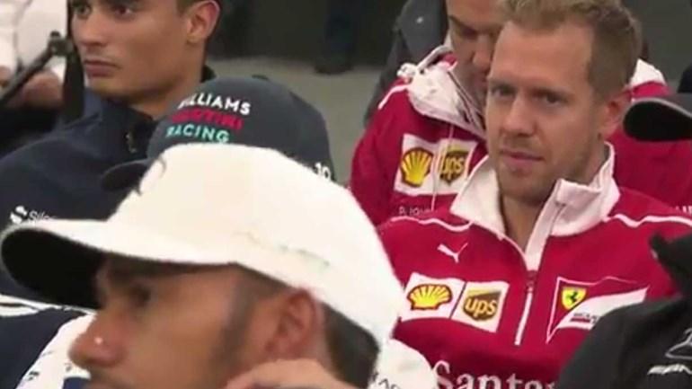Hamilton fez queixinhas de Vettel... e o tiro saiu-lhe pela culatra